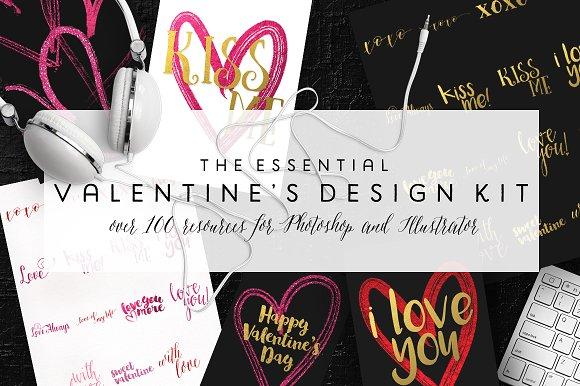 The Essential Valentine's Design Kit