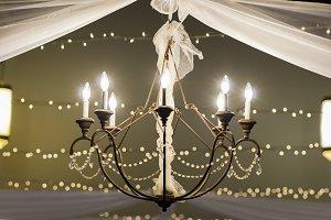 Beautiful Wedding Chandelier