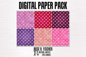 Digital Paper Pack-Valentine Hearts