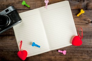 Love letter notepad