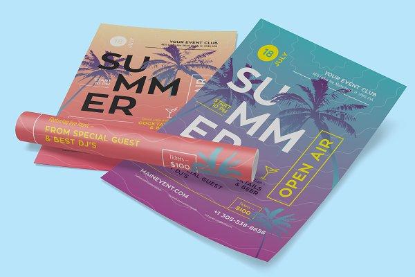 Summer Flyer/Poster Template