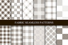 Fabric seamless patterns.