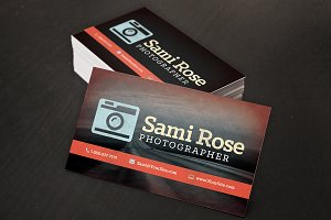 Vintage Photography Business Cards