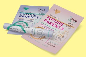 Future Parents Poster Template