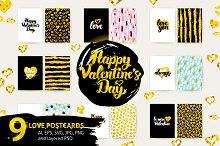 Love Lettering Postcards