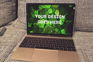 MacBook Display Mock-up#106