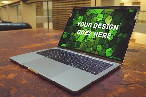 MacBook Display Mock-up#108