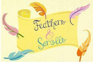 Feathers & Scrolls