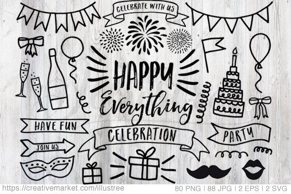 Celebration, party, birthday clipar…