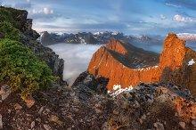Mountain Husfjellet Web