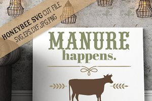 Manure Happens cut file