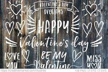 106 Valentine's day vector clip art