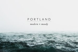 Modern Moody Photoshop Actions