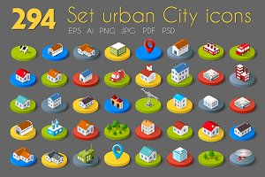 City Bundle Web icons