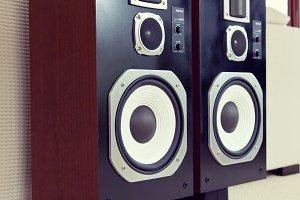 Audio Stereo loudspeaker, pair