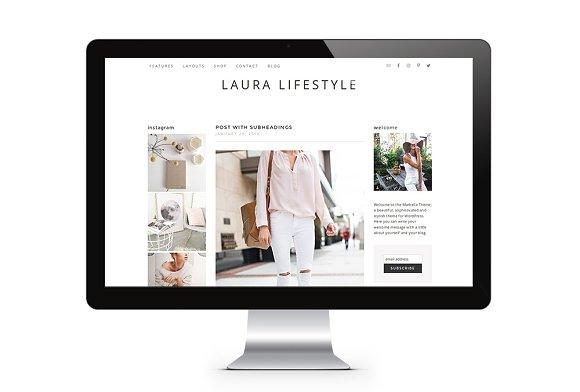Modern Lifestyle Genesis Blog Shop