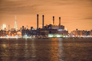 Power generation plant in New York