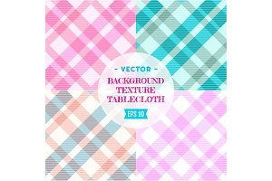 Vector texture tablecloths