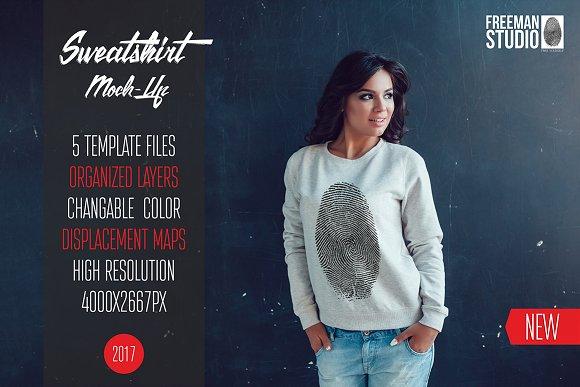 Download Sweatshirt Mock-Up Vol.3 2017