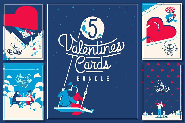 5 Valentine's Day Romantic Cards