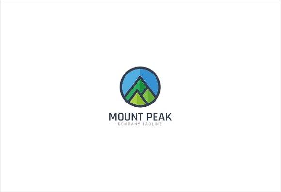 Mount Peak Logo Template