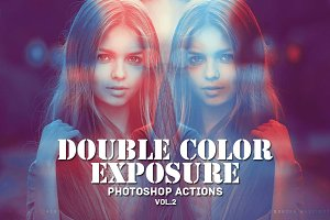 Double Color Exposure Actions Vol. 2