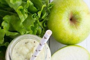 smoothies ,salad,apple,orange