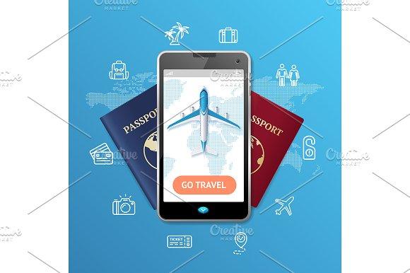 Go Travel Concept