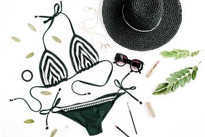 Feminine summer accessories