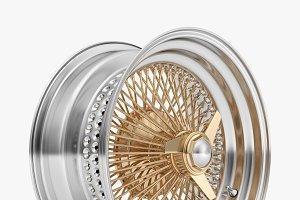 100 Spoke Wire Wheel Rim