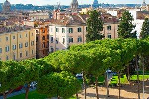 Rome city park, Italy