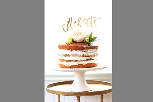 Naked Cake Celebrate