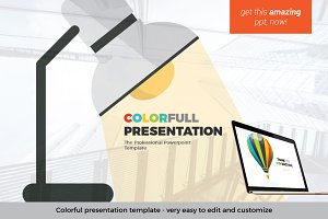 Colorful PowerPoint Template