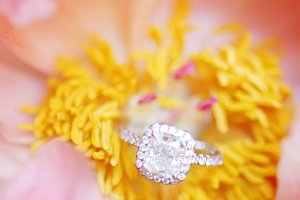 Peony Engagement Ring
