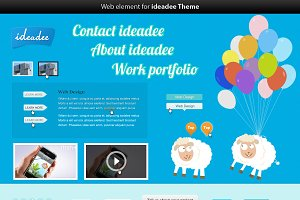 Ideadee - PSD Template