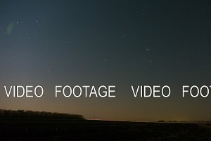 Night sky of stars timelapse