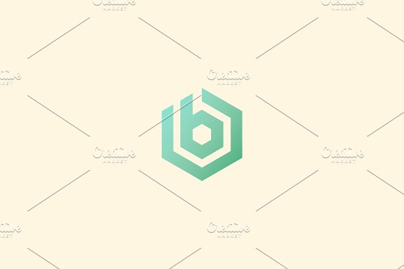 Abstract letter b vector logotype line hexagon creative simple abstract letter b vector logotype line hexagon creative simple logo design template universal geometric pronofoot35fo Image collections