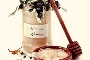 Flower Honey Concept