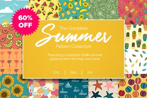 Summer Pattern Collection (60% OFF)