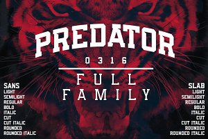 Predator 0316 - Full Family