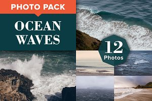 OCEAN WAVES (12 Premium Photos)