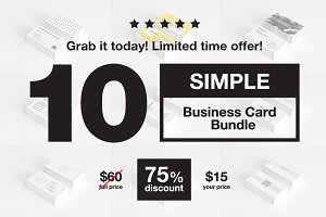 Simple Business Card Bundle - 9