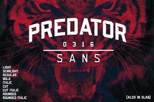 Predator 0316 Sans