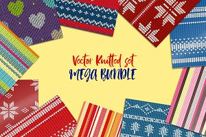 Knitted vector bundle. 20 patterns