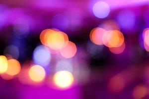 Purple and pink Bokeh