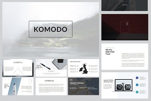 Komodo Minimal Keynote Template