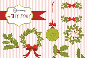 Holly Jolly Christmas Graphics