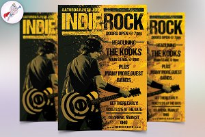 Indie Rock Style Flyer