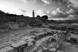 Ancient Ruins Of Kato Pafos, Paphos City, Cyprus