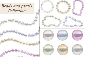 Beads and pearls Collection
